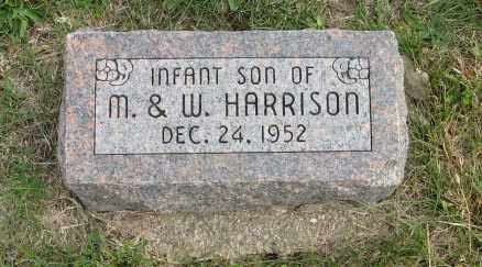 HARRISON, INFANT SON OF M & W. - Lancaster County, Nebraska | INFANT SON OF M & W. HARRISON - Nebraska Gravestone Photos