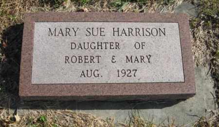 HARRISON, MARY SUE - Lancaster County, Nebraska   MARY SUE HARRISON - Nebraska Gravestone Photos