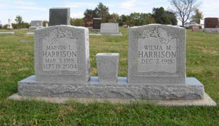 HARRISON, MARVIN L. - Lancaster County, Nebraska   MARVIN L. HARRISON - Nebraska Gravestone Photos