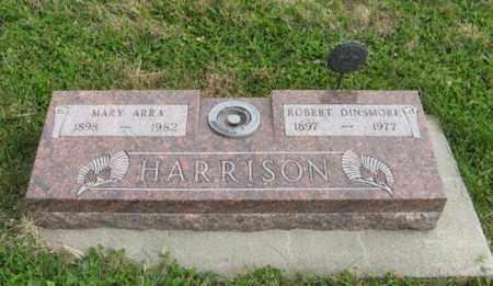HARRISON, MARY ARRA - Lancaster County, Nebraska | MARY ARRA HARRISON - Nebraska Gravestone Photos