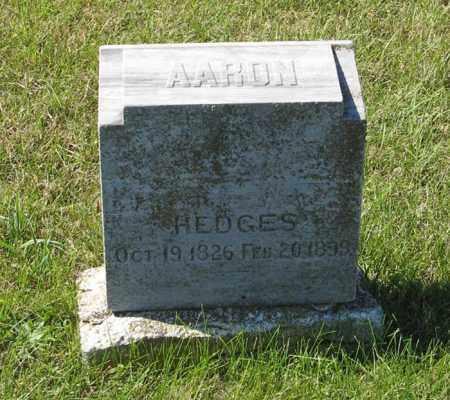 HEDGES, AARON - Lancaster County, Nebraska | AARON HEDGES - Nebraska Gravestone Photos