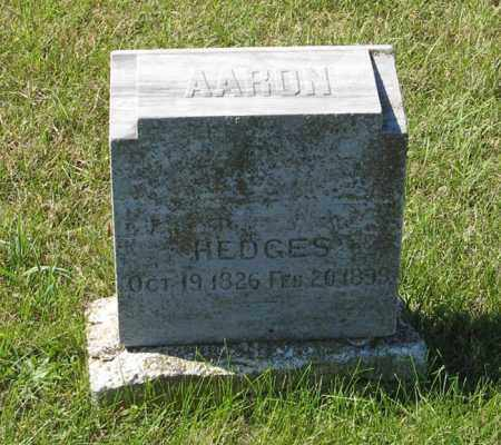 HEDGES, AARON - Lancaster County, Nebraska | AARON HEDGES - Nebraska Gravestone Photos