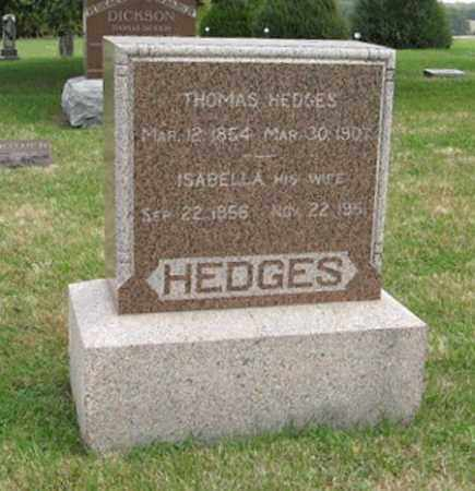 HEDGES, ISABELLA - Lancaster County, Nebraska | ISABELLA HEDGES - Nebraska Gravestone Photos