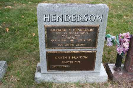 HENDERSON, RICHARD B. - Lancaster County, Nebraska | RICHARD B. HENDERSON - Nebraska Gravestone Photos