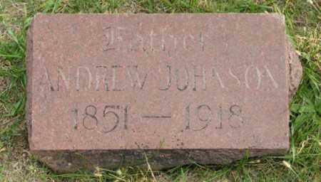 JOHNSON, ANDREW - Lancaster County, Nebraska | ANDREW JOHNSON - Nebraska Gravestone Photos