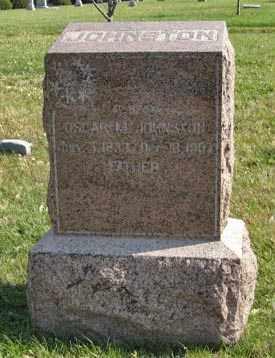 JOHNSTON, OSCAR M. - Lancaster County, Nebraska | OSCAR M. JOHNSTON - Nebraska Gravestone Photos