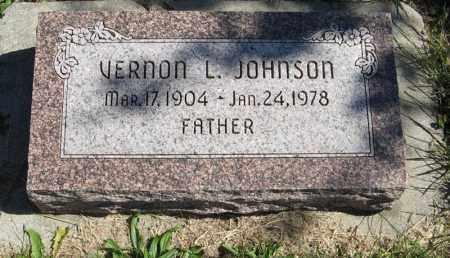 JOHNSON, VERNON L. - Lancaster County, Nebraska   VERNON L. JOHNSON - Nebraska Gravestone Photos