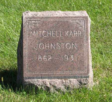JOHNSTON, MITCHELL KARR - Lancaster County, Nebraska | MITCHELL KARR JOHNSTON - Nebraska Gravestone Photos