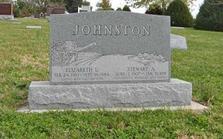 JOHNSTON, ELIZABETH L. - Lancaster County, Nebraska   ELIZABETH L. JOHNSTON - Nebraska Gravestone Photos