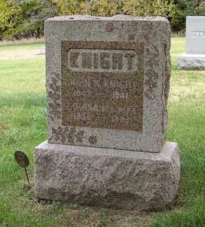 KNIGHT, JOHN W. - Lancaster County, Nebraska   JOHN W. KNIGHT - Nebraska Gravestone Photos