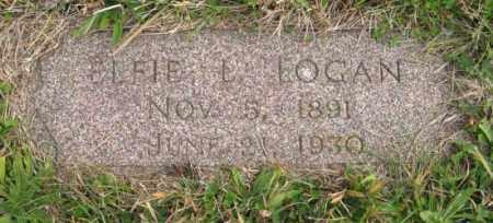 LOGAN, ELFIE L. - Lancaster County, Nebraska | ELFIE L. LOGAN - Nebraska Gravestone Photos