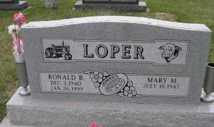 LOPER, RONALD B. - Lancaster County, Nebraska | RONALD B. LOPER - Nebraska Gravestone Photos