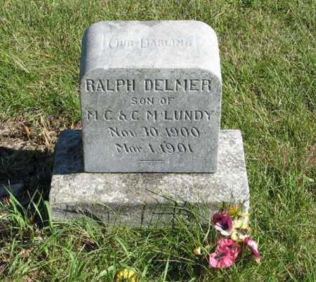 LUNDY, RALPH DELMER - Lancaster County, Nebraska | RALPH DELMER LUNDY - Nebraska Gravestone Photos