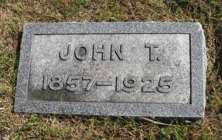 MARSHALL, JOHN T. - Lancaster County, Nebraska | JOHN T. MARSHALL - Nebraska Gravestone Photos