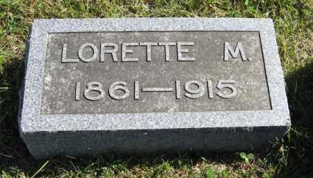 MARSHALL, LORETTE M. - Lancaster County, Nebraska | LORETTE M. MARSHALL - Nebraska Gravestone Photos