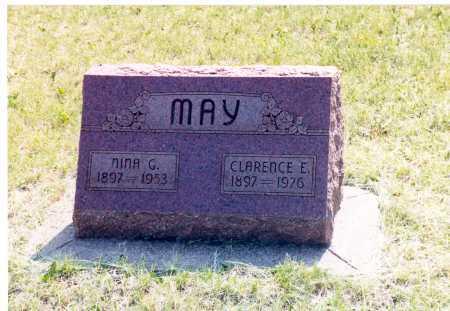 MAY, CLARENCE E. - Lancaster County, Nebraska | CLARENCE E. MAY - Nebraska Gravestone Photos