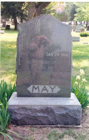 MAY, HERMANN - Lancaster County, Nebraska | HERMANN MAY - Nebraska Gravestone Photos
