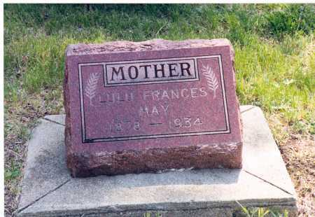 MAY, LULU - Lancaster County, Nebraska | LULU MAY - Nebraska Gravestone Photos