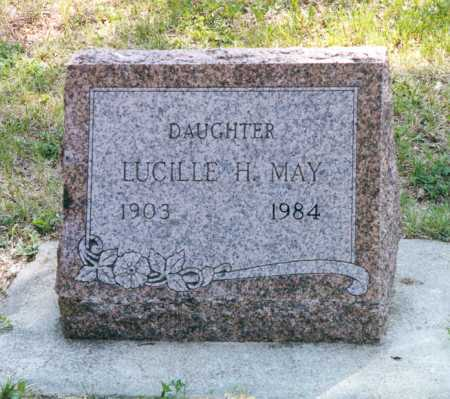 MAY, LUCILLE - Lancaster County, Nebraska | LUCILLE MAY - Nebraska Gravestone Photos