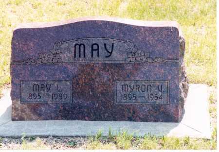 MAY, MAY L. - Lancaster County, Nebraska   MAY L. MAY - Nebraska Gravestone Photos