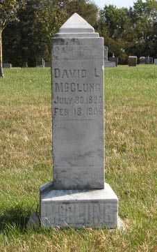 MCCLUNG, DAVID L. - Lancaster County, Nebraska | DAVID L. MCCLUNG - Nebraska Gravestone Photos
