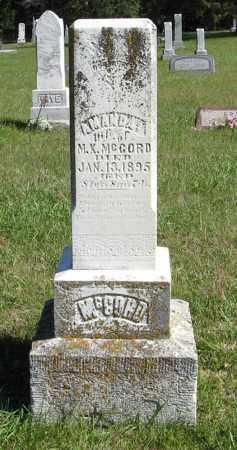 MCCORD, AMANDA - Lancaster County, Nebraska | AMANDA MCCORD - Nebraska Gravestone Photos