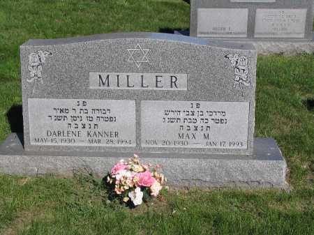 MILLER, DARLENE - Lancaster County, Nebraska | DARLENE MILLER - Nebraska Gravestone Photos