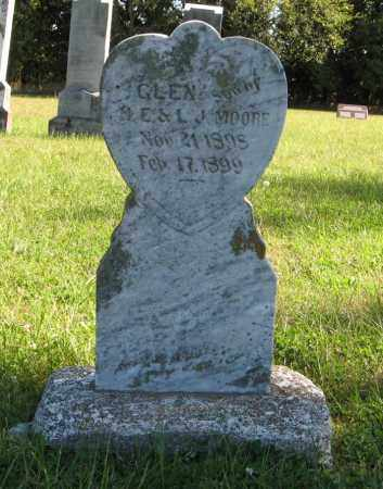 MOORE, GLEN - Lancaster County, Nebraska   GLEN MOORE - Nebraska Gravestone Photos