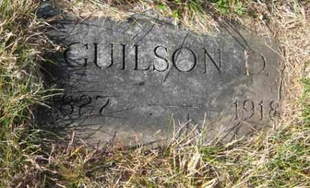 MORSE, GUILSON D. - Lancaster County, Nebraska | GUILSON D. MORSE - Nebraska Gravestone Photos