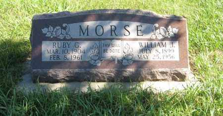 MORSE, WILLIAM J. - Lancaster County, Nebraska | WILLIAM J. MORSE - Nebraska Gravestone Photos