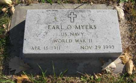 MYERS, EARL O. - Lancaster County, Nebraska | EARL O. MYERS - Nebraska Gravestone Photos