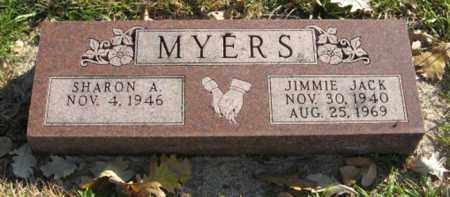 MYERS, SHARON A. - Lancaster County, Nebraska | SHARON A. MYERS - Nebraska Gravestone Photos