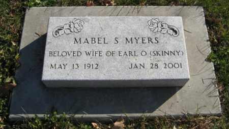 MYERS, MABEL S. - Lancaster County, Nebraska   MABEL S. MYERS - Nebraska Gravestone Photos