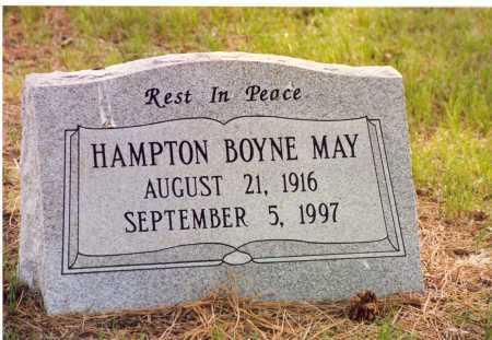 MAY, HAMPTON BOYNE - Lancaster County, Nebraska | HAMPTON BOYNE MAY - Nebraska Gravestone Photos