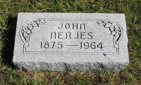 NERJES, JOHN - Lancaster County, Nebraska   JOHN NERJES - Nebraska Gravestone Photos