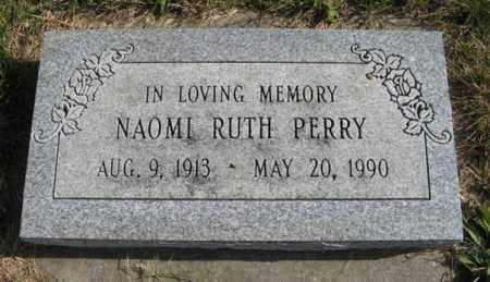 PERRY, NAOMI RUTH - Lancaster County, Nebraska | NAOMI RUTH PERRY - Nebraska Gravestone Photos