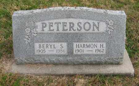 PETERSON, HARMON H. - Lancaster County, Nebraska | HARMON H. PETERSON - Nebraska Gravestone Photos