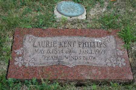 PHILLIPS, LAURIE KENT - Lancaster County, Nebraska   LAURIE KENT PHILLIPS - Nebraska Gravestone Photos