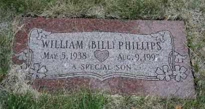 "PHILLIPS, WILLIAM ""BILL"" - Lancaster County, Nebraska | WILLIAM ""BILL"" PHILLIPS - Nebraska Gravestone Photos"