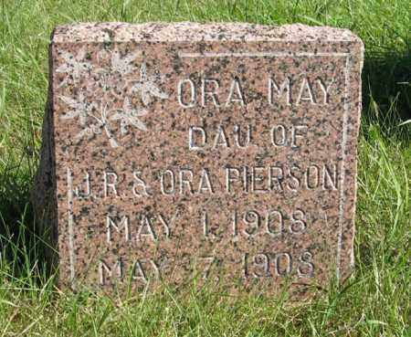 PIERSON, ORA MAY - Lancaster County, Nebraska | ORA MAY PIERSON - Nebraska Gravestone Photos