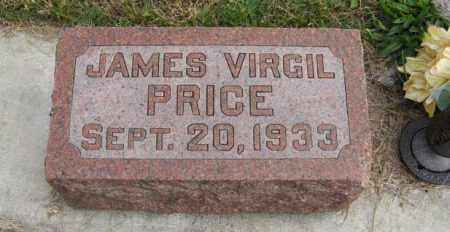 PRICE, JAMES VIRGIL - Lancaster County, Nebraska   JAMES VIRGIL PRICE - Nebraska Gravestone Photos
