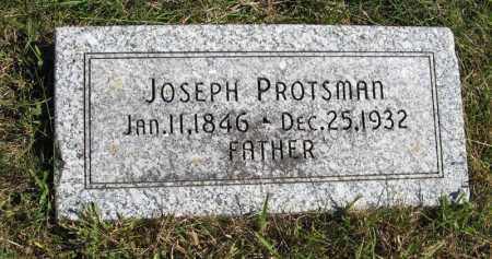 PROTSMAN, JOSEPH - Lancaster County, Nebraska | JOSEPH PROTSMAN - Nebraska Gravestone Photos