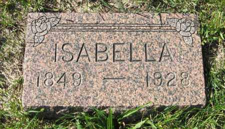 ROBERTSON, ISABELLA - Lancaster County, Nebraska   ISABELLA ROBERTSON - Nebraska Gravestone Photos
