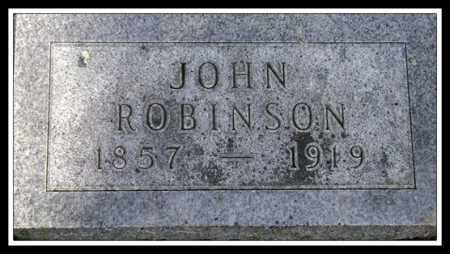 ROBINSON, JOHN - Lancaster County, Nebraska | JOHN ROBINSON - Nebraska Gravestone Photos