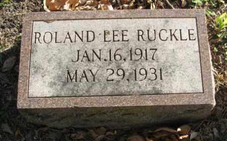 RUCKLE, ROLAND LEE - Lancaster County, Nebraska   ROLAND LEE RUCKLE - Nebraska Gravestone Photos