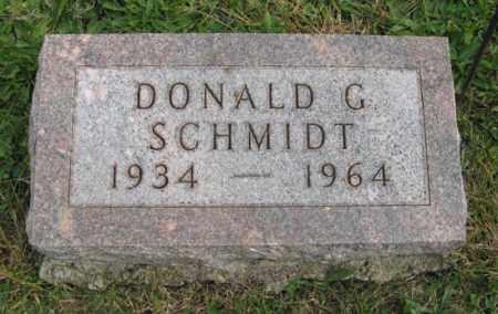 SCHMIDT, DONALD G. - Lancaster County, Nebraska | DONALD G. SCHMIDT - Nebraska Gravestone Photos