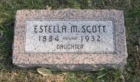 SCOTT, ESTELLA M. - Lancaster County, Nebraska | ESTELLA M. SCOTT - Nebraska Gravestone Photos