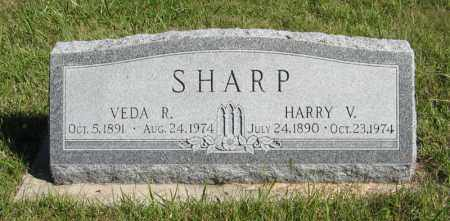 SHARP, HARRY V. - Lancaster County, Nebraska | HARRY V. SHARP - Nebraska Gravestone Photos