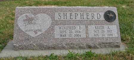SHEPHERD, WINIFRED E. - Lancaster County, Nebraska | WINIFRED E. SHEPHERD - Nebraska Gravestone Photos