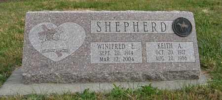 SHEPHERD, KEITH A. - Lancaster County, Nebraska | KEITH A. SHEPHERD - Nebraska Gravestone Photos